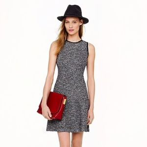 [J. Crew] Tweed Sleeveless Flare Dress (4)